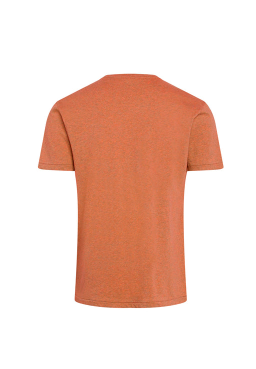 t-shirt alder basic chest pocket abricut melange