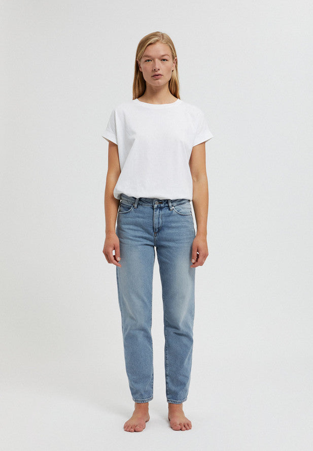 jeans fjellaa cropped mid blue