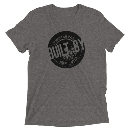 Built By Black on Grey Short sleeve t-shirt