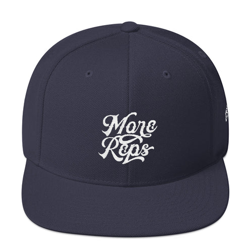 More Reps Snapback Hat