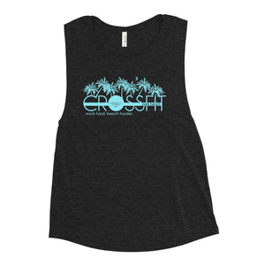 Beach Harder Ladies' Muscle Tank