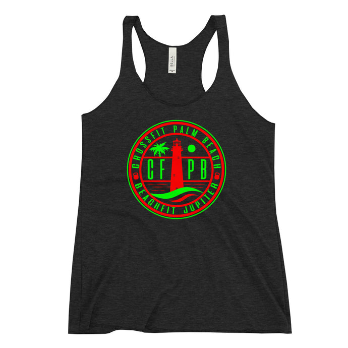 CFPB Holiday Women's Racerback Tank