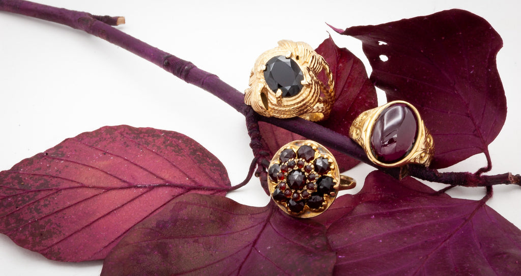 Gorgeous Garnets: the heart-centered January birthstone