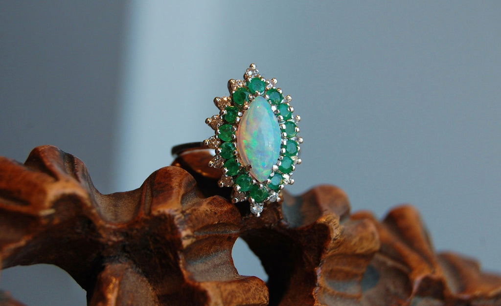 The safest Opal setting and 5 practical tips to care for your Opal Jewelry