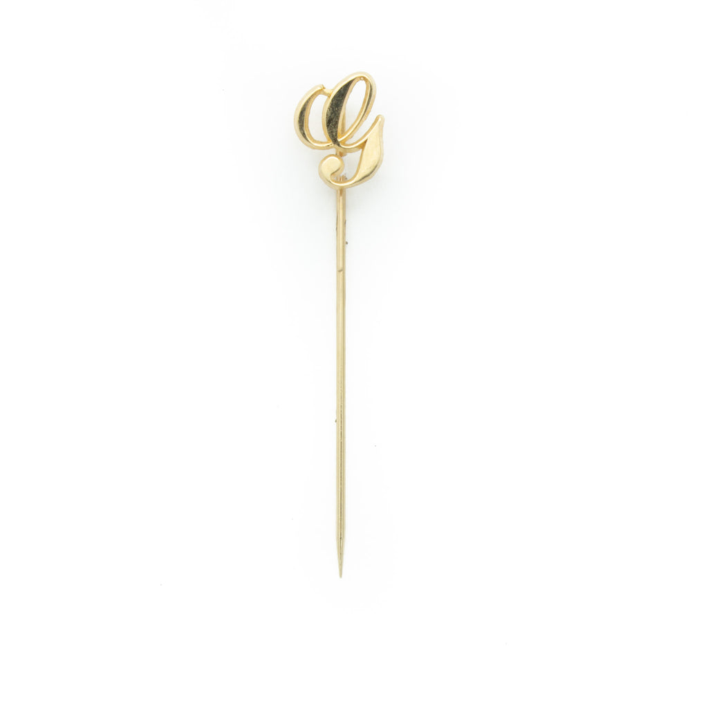 G Initial Stick Pin