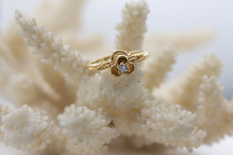 Diamond Posy Ring