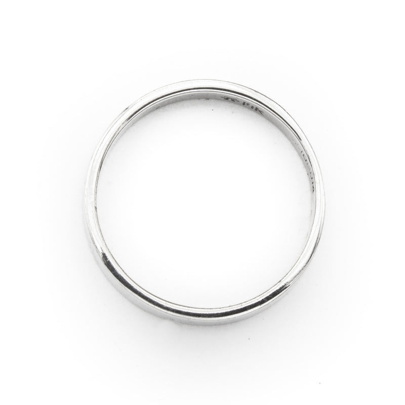 Flat Square-Edged Band Ring