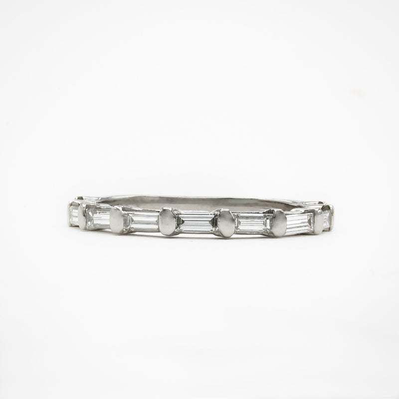 Baguette Diamond Stacking Ring