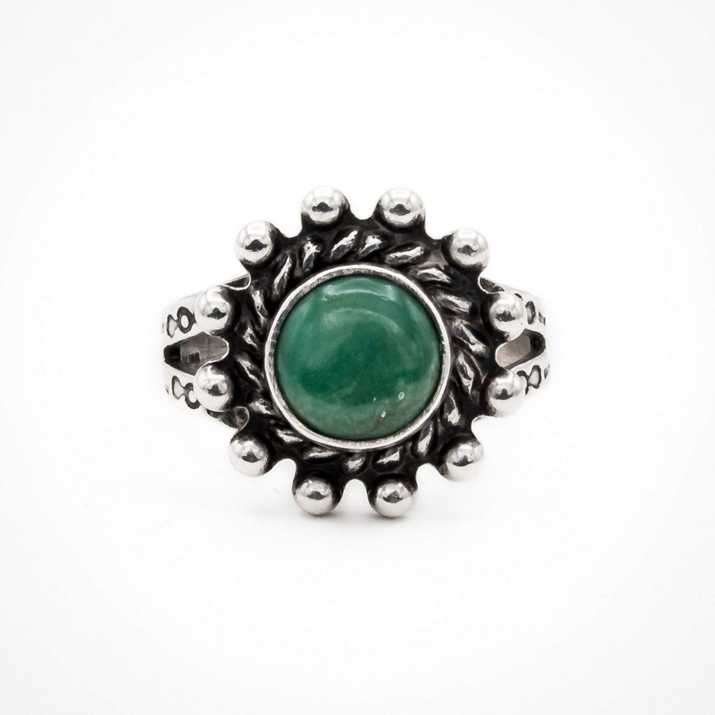 Green Turquoise Ring