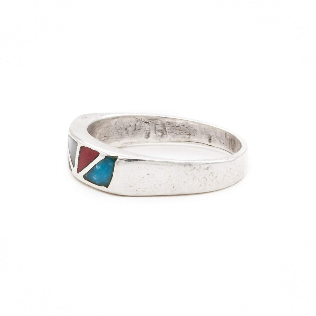 Inlaid Navajo Ring