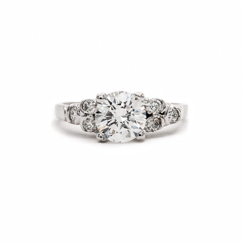 Understated Opulent Diamond Ring