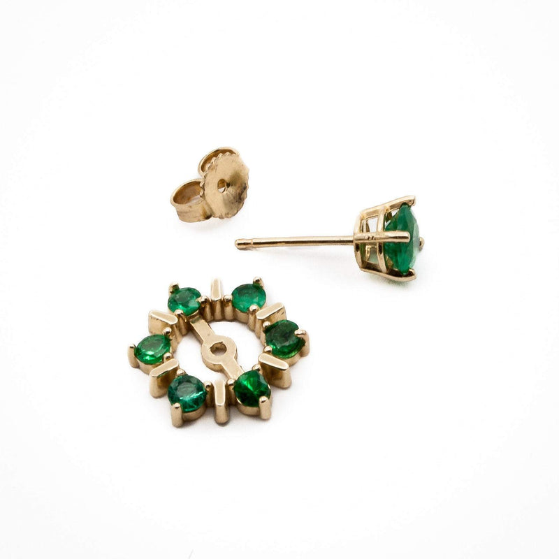 Emerald Earring Jackets