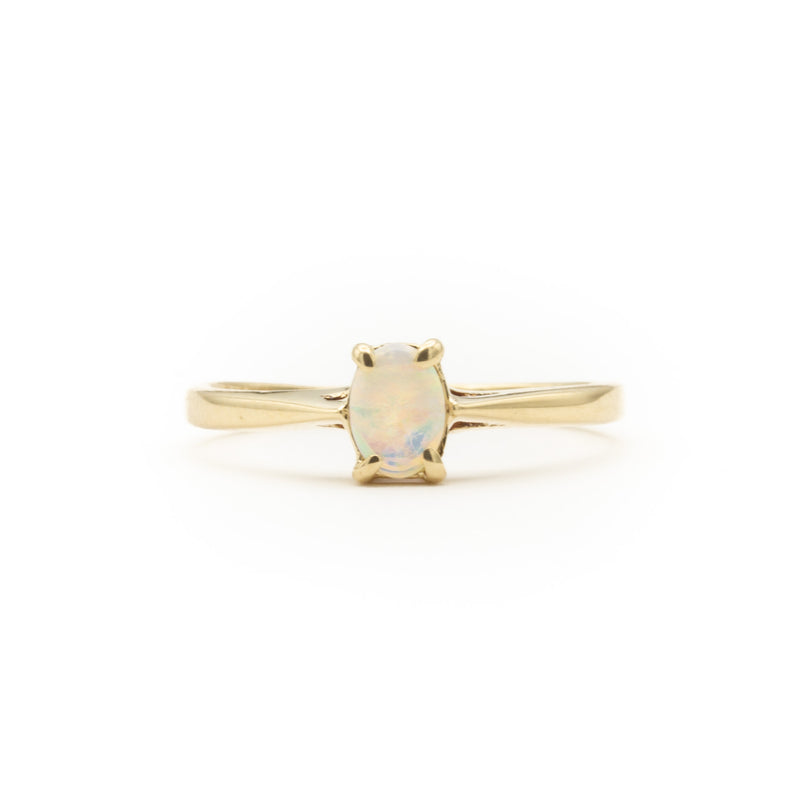 Petite and Perfect Opal Ring