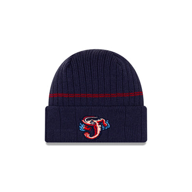 Jacksonville Jumbo Shrimp New Era 2020 On-Field Knit Beanie