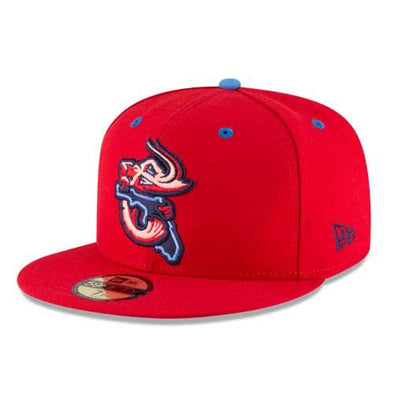 Jacksonville Jumbo Shrimp 2020 Official On-Field Alternate Hat
