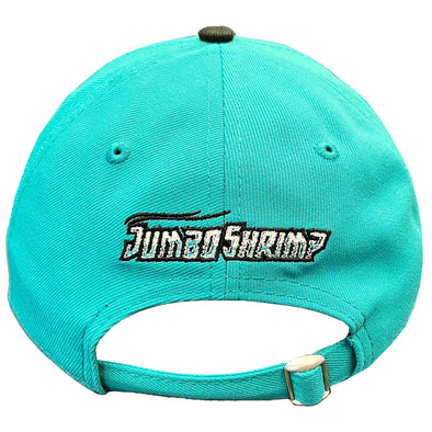 Jacksonville Jumbo Shrimp 2021 Official Low Profile Road On-Field