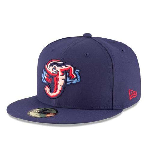 Jacksonville Jumbo Shrimp 2020 Official On-Field Home Hat