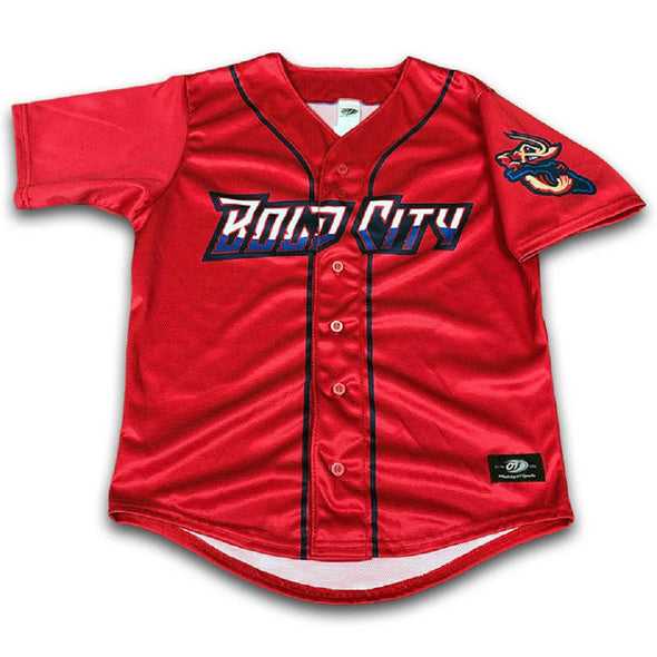 Jacksonville Jumbo Shrimp OT Sports Adult Bold City Replica Jersey