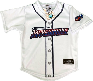 Jacksonville Jumbo Shrimp OT Sports Toddler Replica Home Jersey