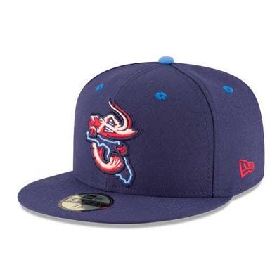 Jacksonville Jumbo Shrimp 2020 Official On-Field Road Hat