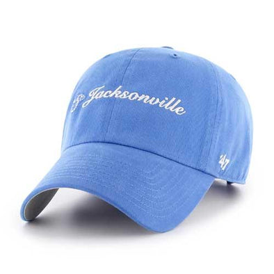 Jacksonville Jumbo Shrimp '47 Ladies Cohasset Blue Raz Clean Up Adjustable Cap