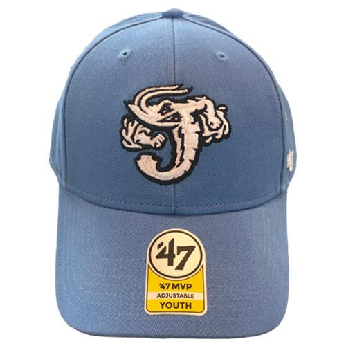 Jacksonville Jumbo Shrimp '47 Youth Carolina Clean Up Cap