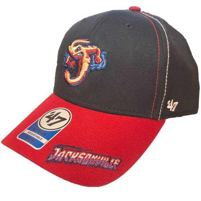 Jacksonville Jumbo Shrimp '47 Yth Cross Stack MVP Adjustable Cap