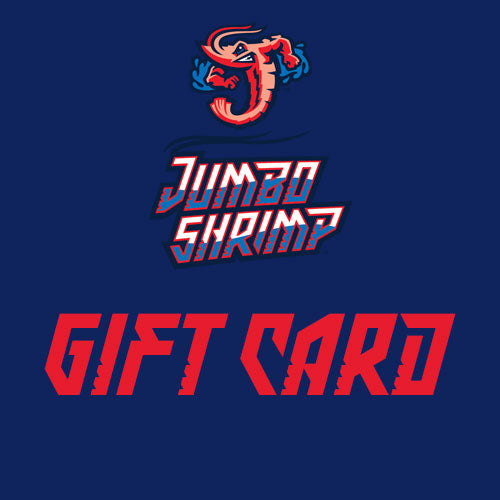 Jacksonville Jumbo Shrimp Team Store Gift Card