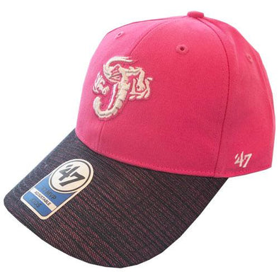 Jacksonville Jumbo Shrimp '47 Youth Pink Lurex MVP Cap
