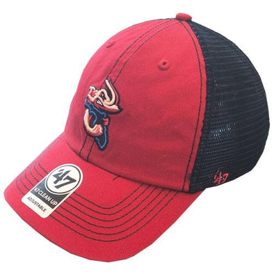 Jacksonville Jumbo Shrimp '47 Two Tone Trawler Clean Up Adjustable Cap
