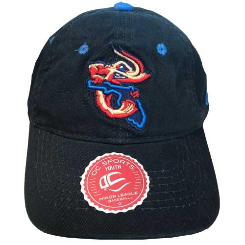 Jacksonville Jumbo Shrimp OC Youth Road Replica Cap