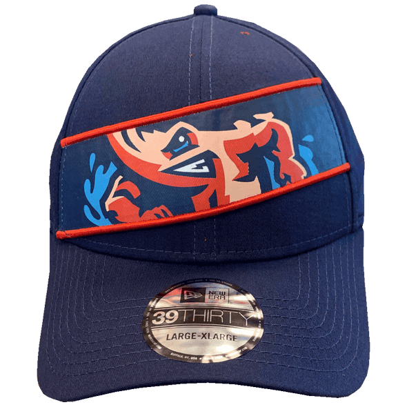 Jacksonville Jumbo Shrimp New Era Panel 39Thirty Flexfit Cap