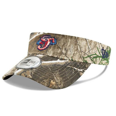 Jacksonville Jumbo Shrimp New Era Realtree Visor