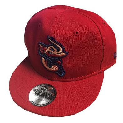 Jacksonville Jumbo Shrimp New Era My 1st 9Fifty Red Alternate