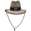 Jacksonville Jumbo Shrimp New Era Natural Straw Shaded Hat