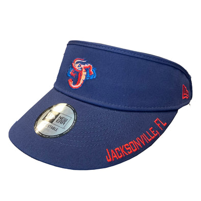 Jacksonville Jumbo Shrimp New Era Tall Visor