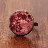 Full Moon Dome Ring Spiritual Warriors Shop Red Bronze