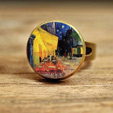 Starry Nightsky Dome Ring Spiritual Warriors Shop Style 3 Gold