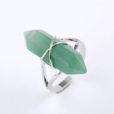 Hexagonal Spiritual Healing Ring Jewelry Spiritual Warriors Shop Amazonite