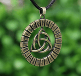 Viking Trinity Knot Rune Necklace Spiritual Warriors Shop
