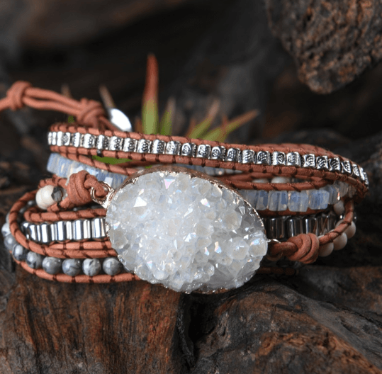 Unique Boho Crystal Chic Bracelet Spiritual Warriors Shop