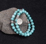 Turquoise Tree Of Life Charm Bracelet Spiritual Warriors Shop