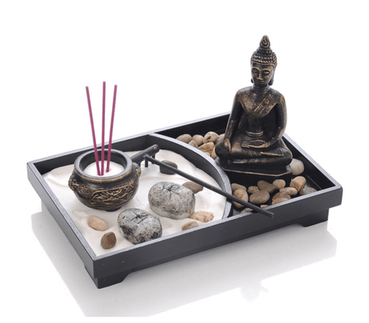 Relaxing Buddha Sand Garden Tray Spiritual Warriors Shop Style 1