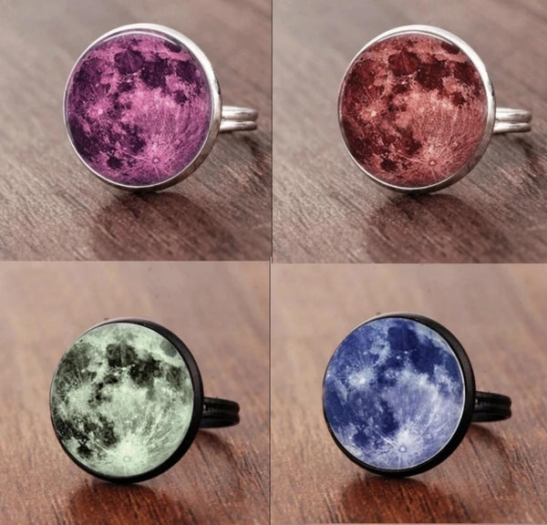 Full Moon Ring Jewelry Spiritual Warriors Shop