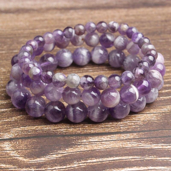 Amethyst Bracelet For Clearing Negative Thoughts Jewelry Spiritual Warriors Shop