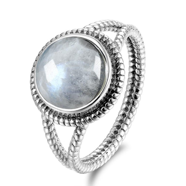 Moonstone Sterling Silver Ring For Strong Intuition Jewelry Spiritual Warriors Shop