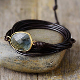 Handcrafted Labradorite Bracelet For Psychic Protection Jewelry Spiritual Warriors Shop