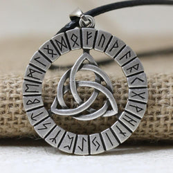 Viking Trinity Knot Rune Necklace Spiritual Warriors Shop Ant Sterlling Silver