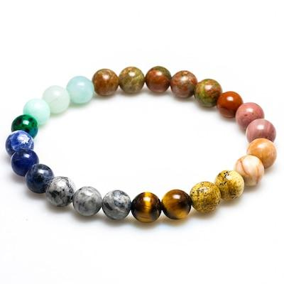 Solar System Planetary Energy Bracelet Spiritual Warriors Shop Beads 8mm