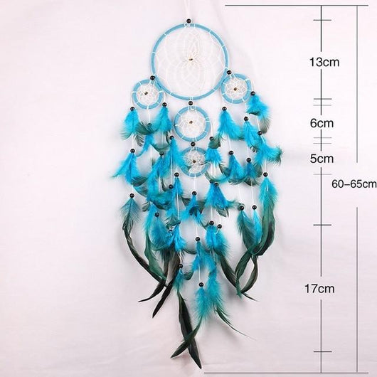 Handmade Feather Dreamcatcher Spiritual Warriors Shop Style 1